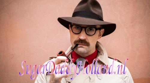 detective met een pijp